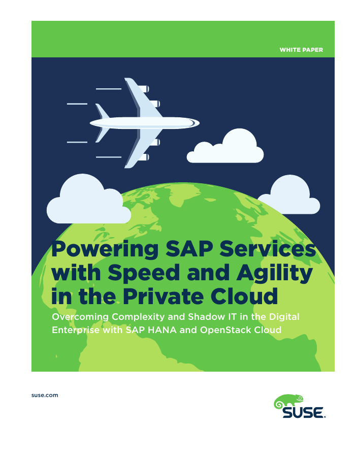 Powering SAP Services with Speed and Agility in the Private Cloud