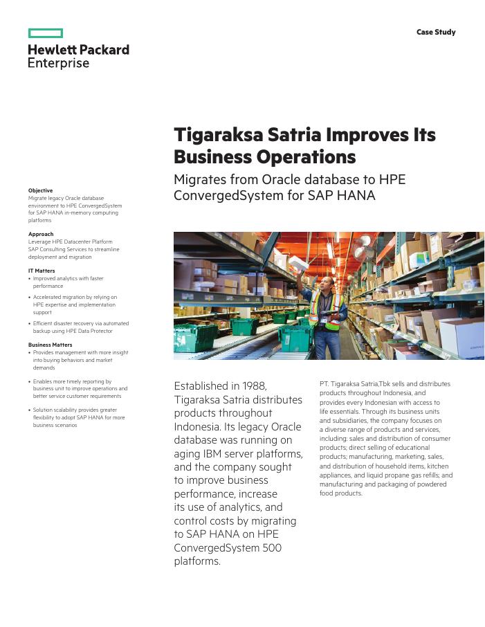 Success Story: Tigaraksa