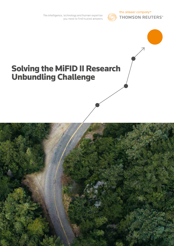 New Whitepaper - Solving the Research Unbundling Challenge