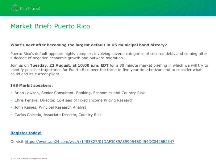 Market Brief: Puerto Rico