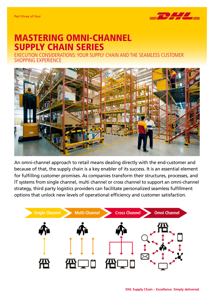 Article | Execution – Operational Components of Omni-Channel Supply Chain