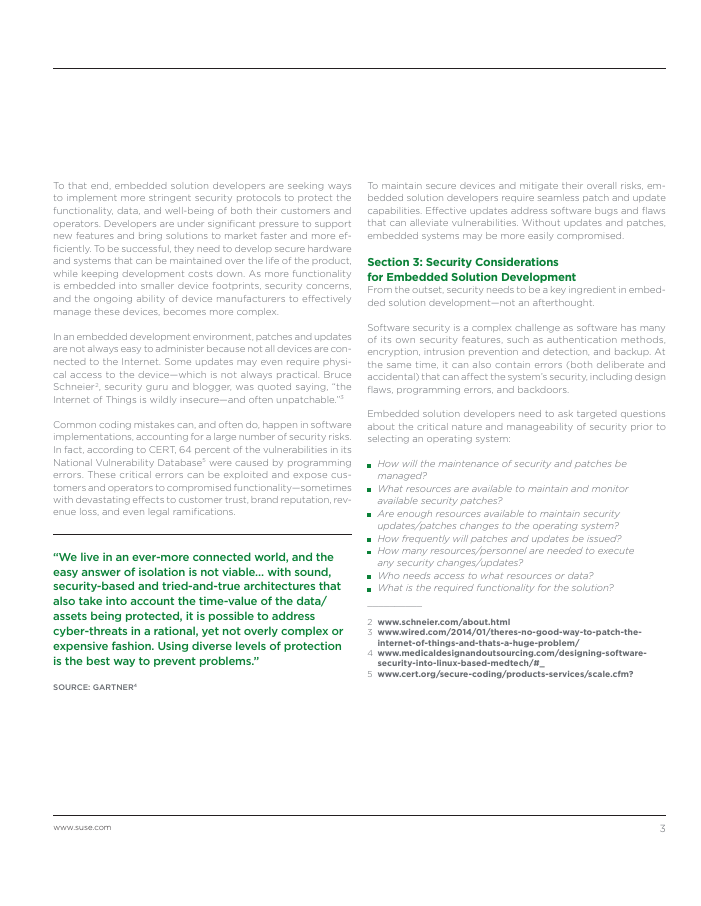 White Paper: SUSE Embedded Security