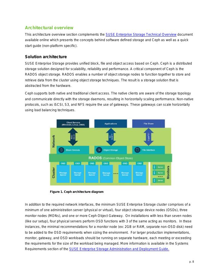 Implementation Guide: SUSE Enterprise Storage v4 on Lenovo Platform