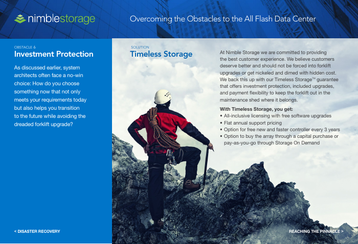 eBook: Overcoming Obstacles to the All Flash Data Center
