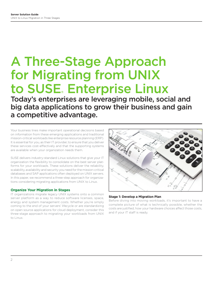 Migration to Linux in 3 Stages