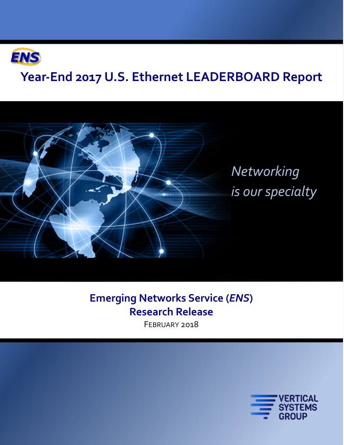2017 U.S. Ethernet Leaderboard Report