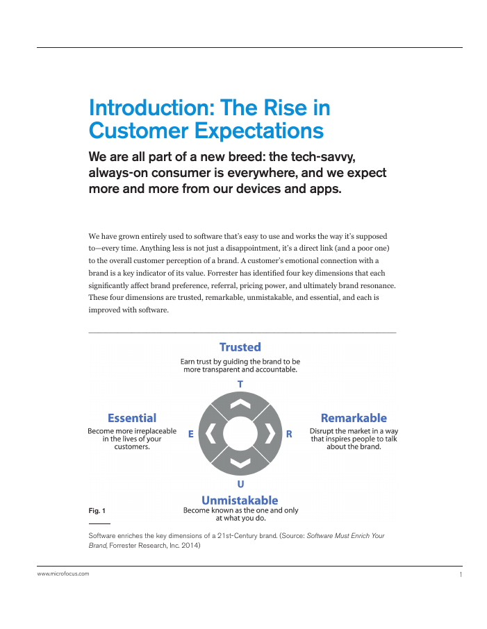 Customer Expectations: The Start, Middle and End of Software Development [White Paper]