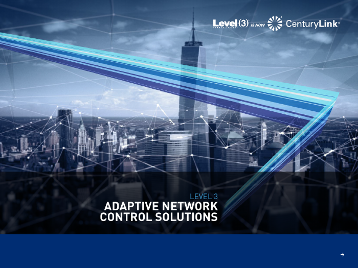 Adaptive Network Control Solutions