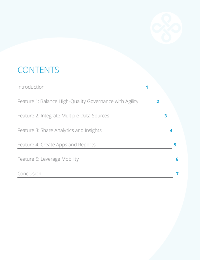 White Paper: CITO - Five Vital Features for Your Self-Service Analytics Solution