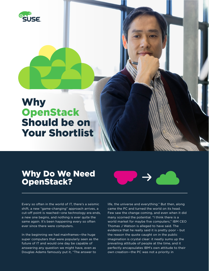 Why OpenStack Should Be on Your Shortlist