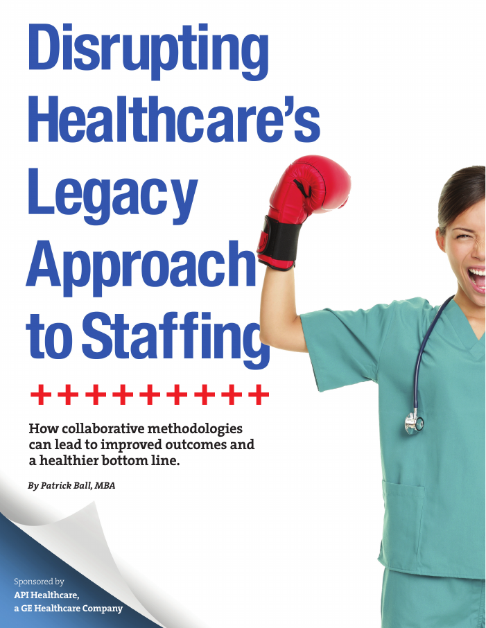 Disrupting Healthcare's Legacy Staffing Approach