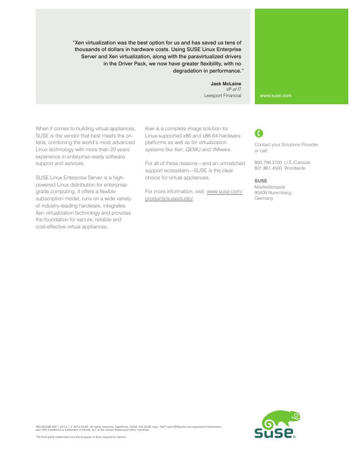 White Paper: JeOS Technical