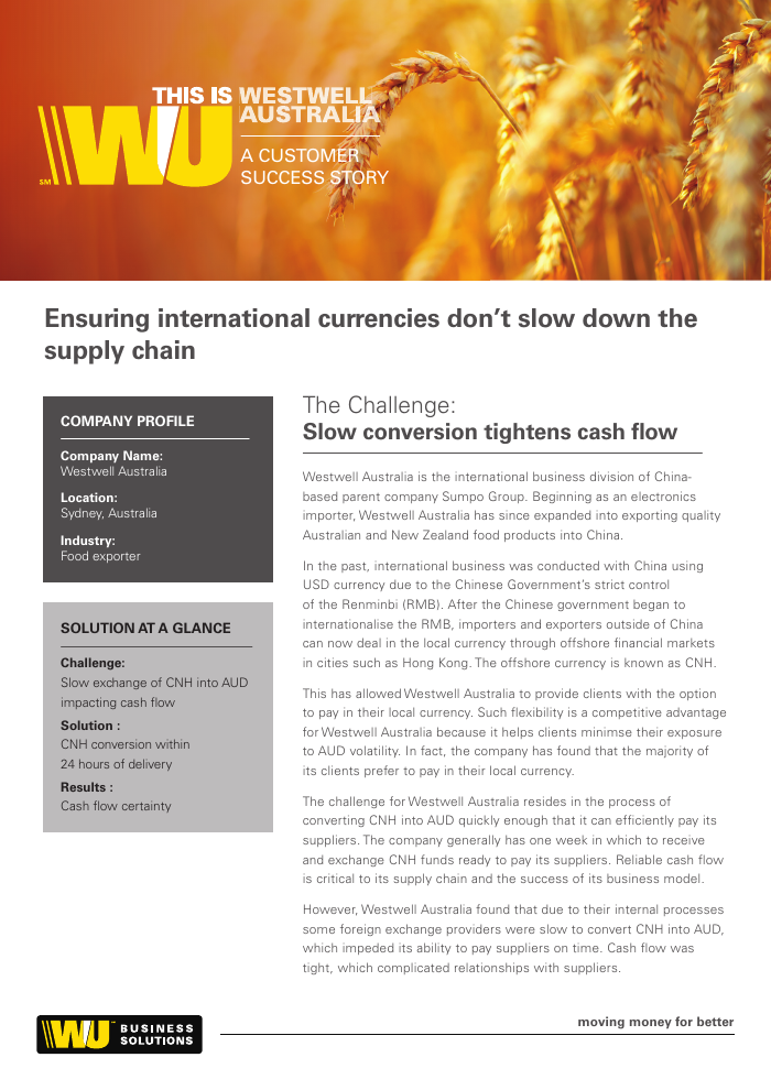 Case Study: Benefits of Paying with Local Currency