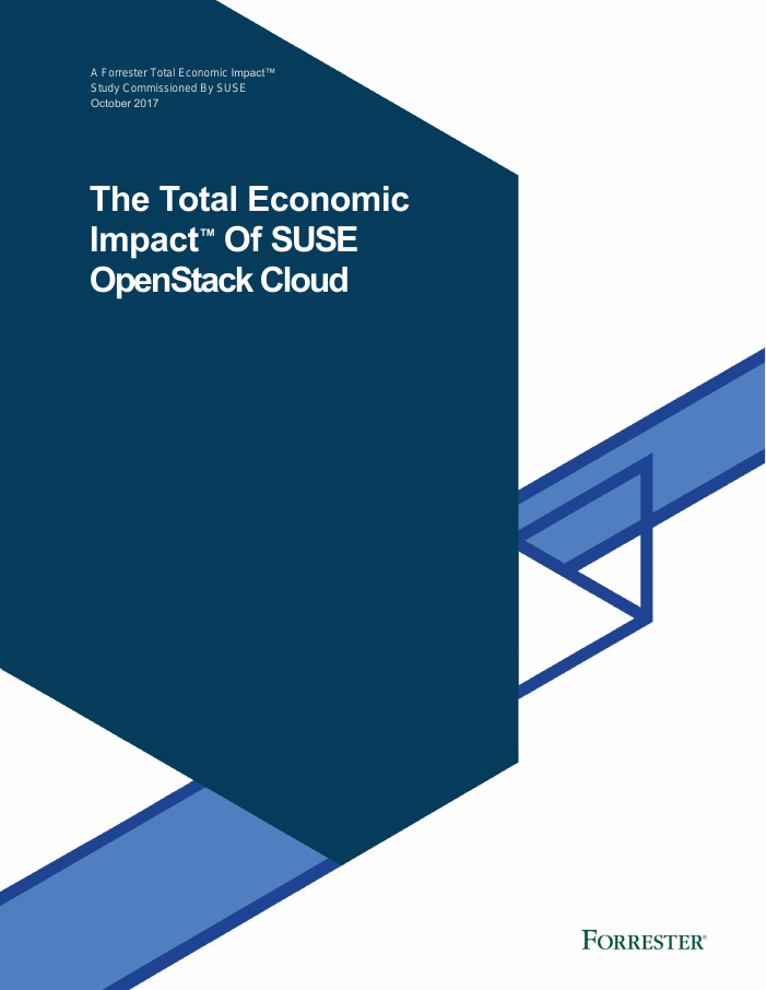 The Total Economic Impact of SUSE OpenStack Cloud