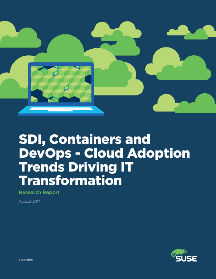 SDI, Containers and DevOps Driving Cloud Adoption