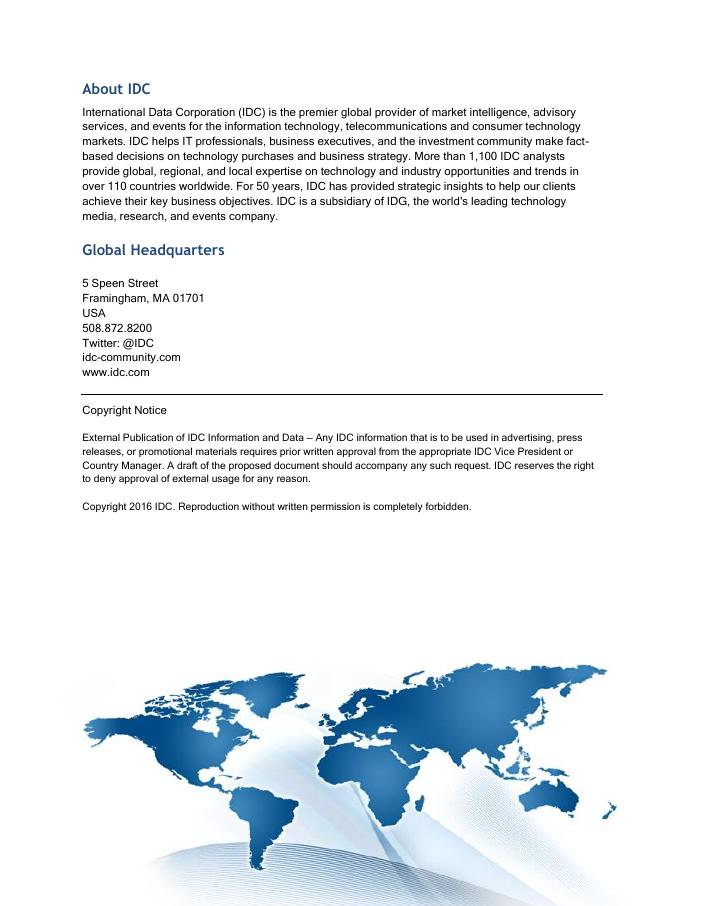 IDC Analyst White Paper