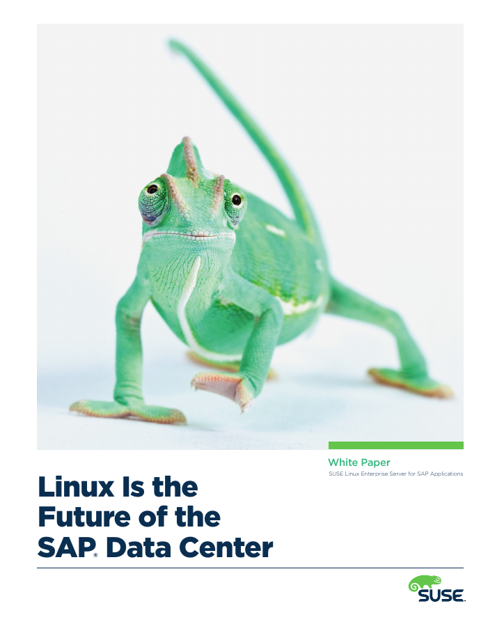 White Paper: The Future of the SAP Data Center is Linux