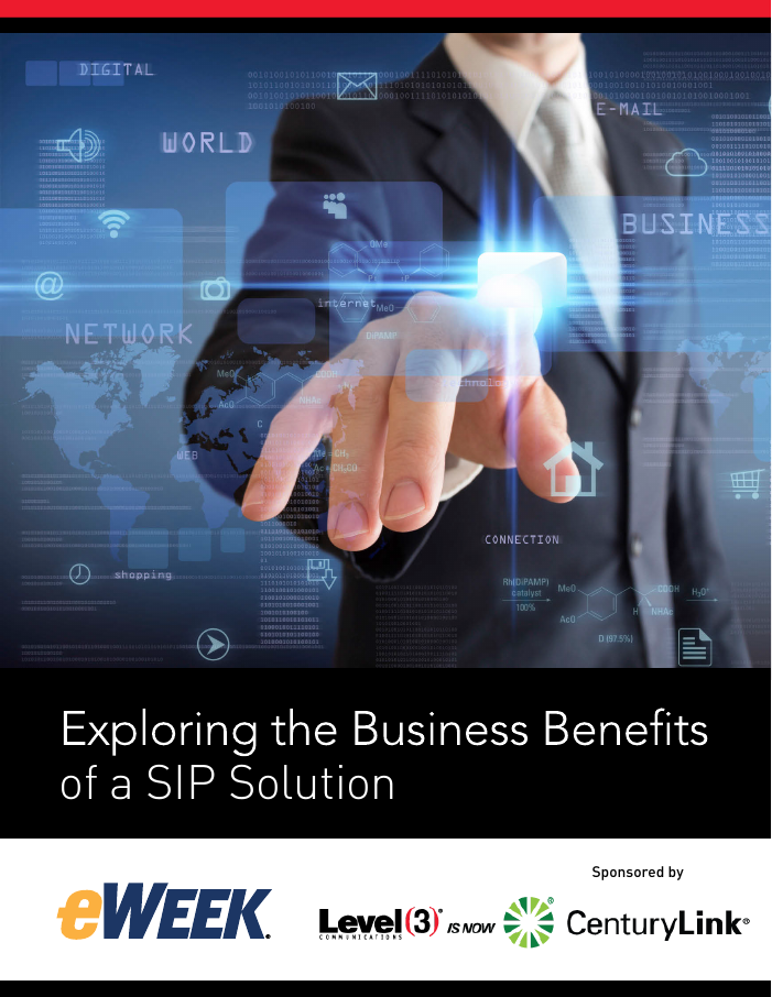 Exploring the Business Benefits of a SIP Solution
