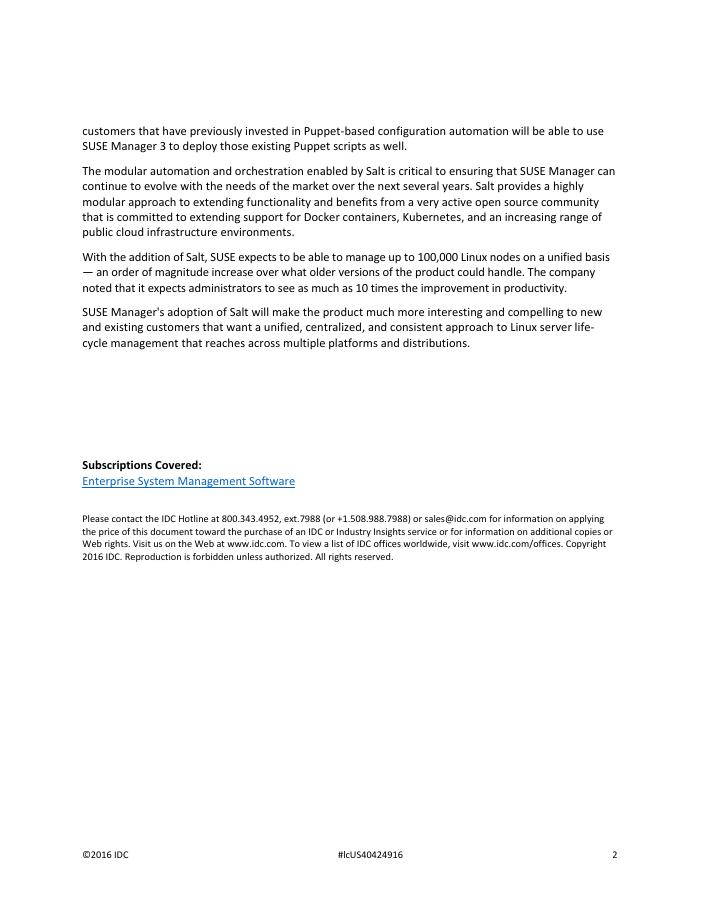 IDC Research White Paper