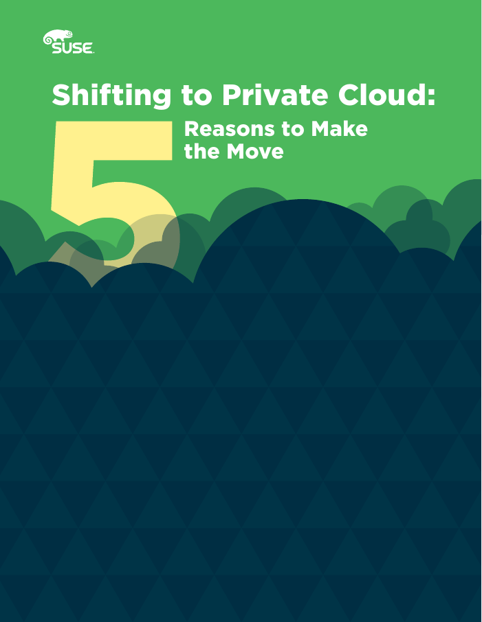 Shifting to Private Cloud: Five Reasons to Make the Move