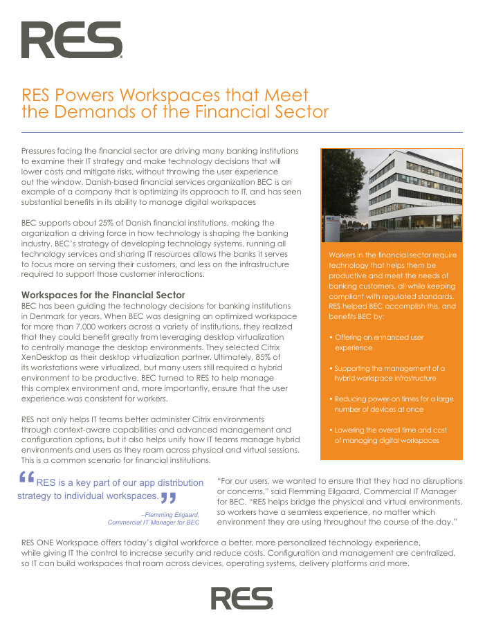 BEC Secures and Empowers Workspaces