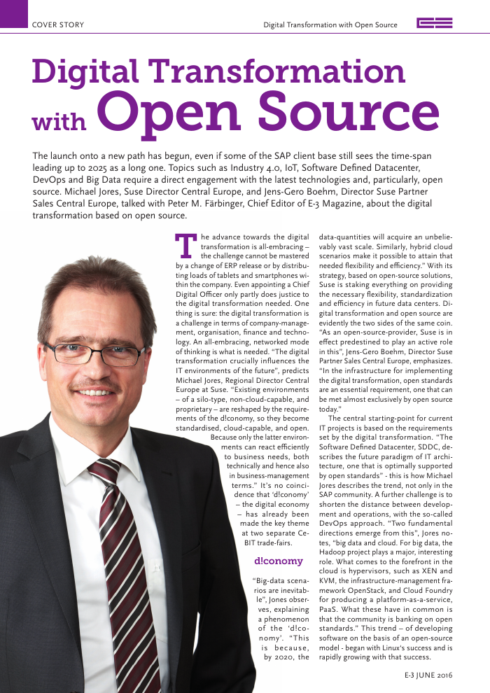 Digital Transformation with Open Source