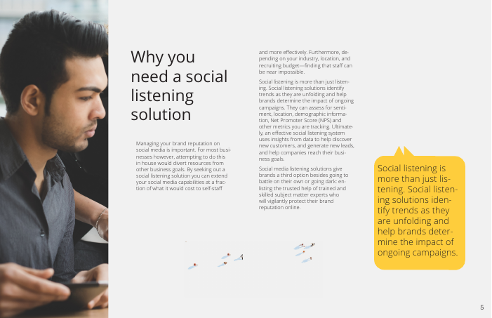 Buyer's Guide: Social Listening Service