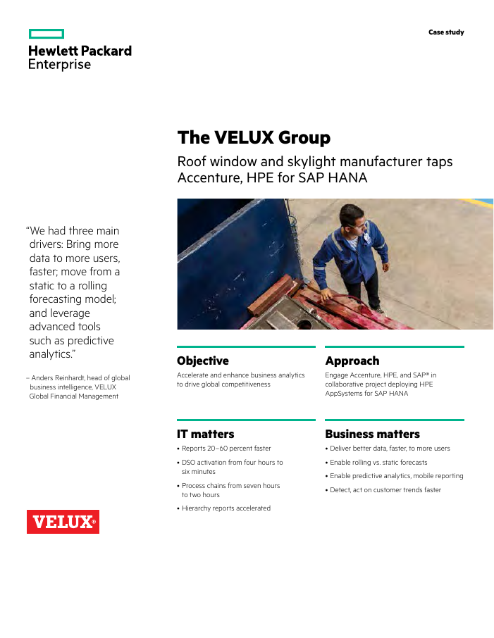 Success Story: The VELUX Group