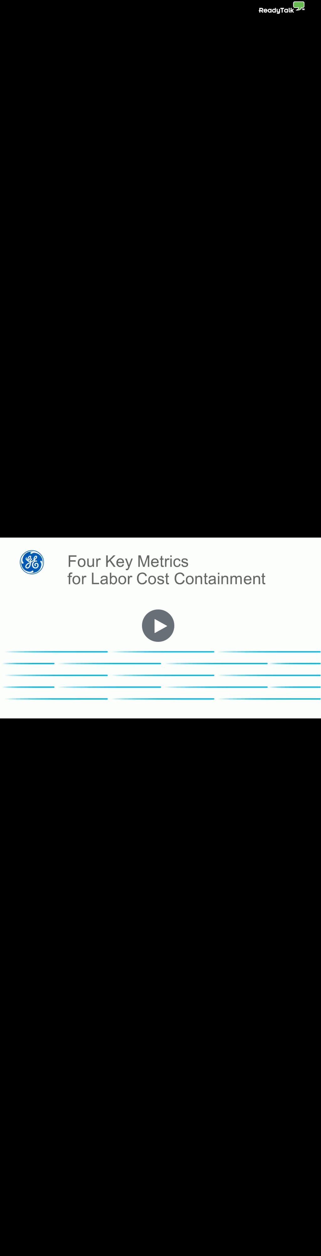 4 Key Metrics for Labor Cost Containment
