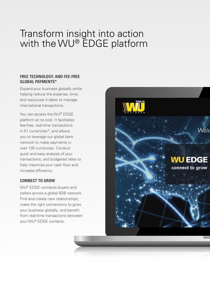 eBook: WU EDGE