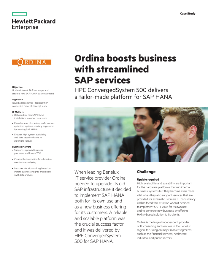 Success Story: Ordina