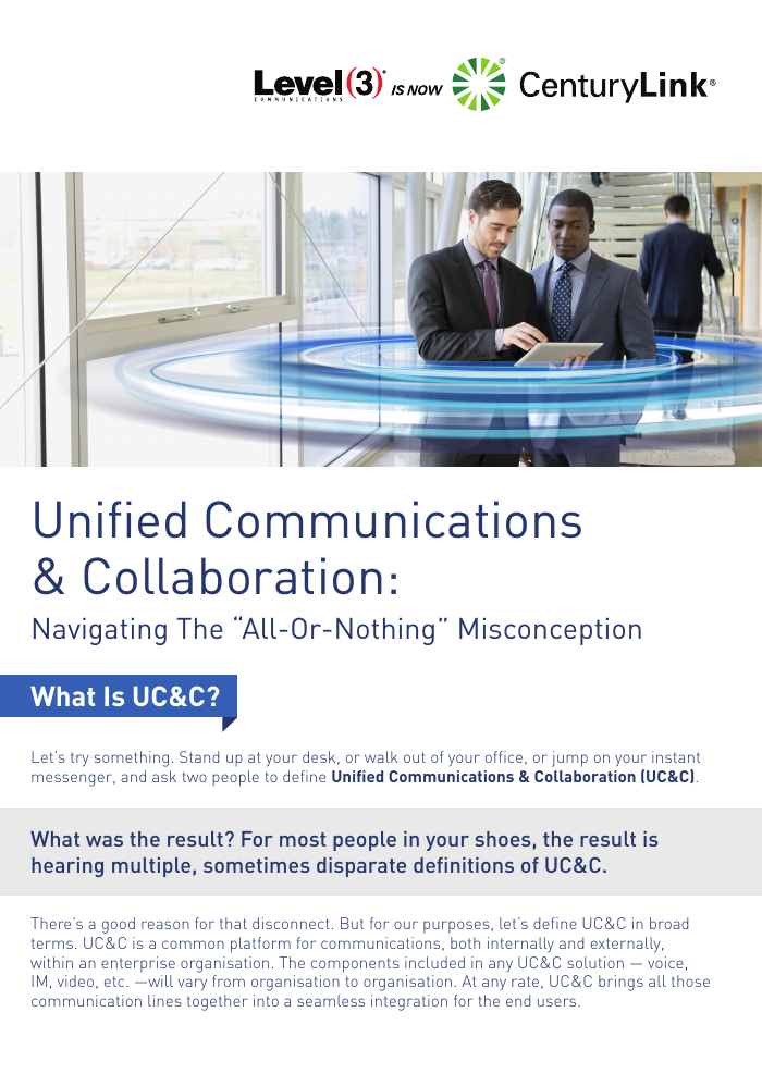"UC&C: Navigating The ""All-Or-Nothing"" Misconception"