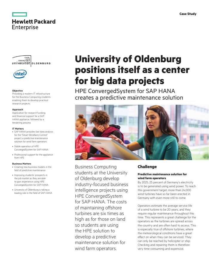 Success Story: University of Oldenburg