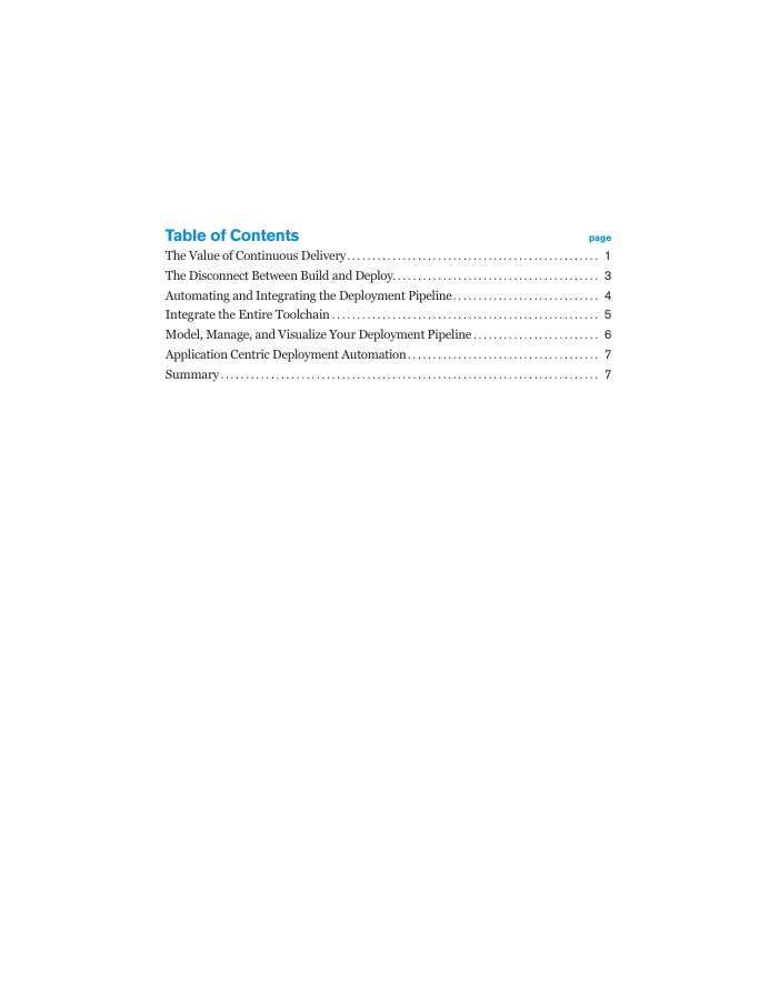 [White Paper] Continuous Delivery: Automating the Deployment Pipeline