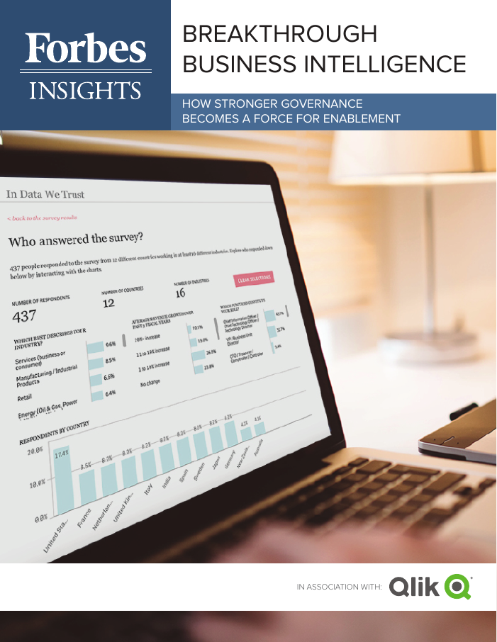Forbes Insights Whitepaper: Breakthrough Business Intelligence