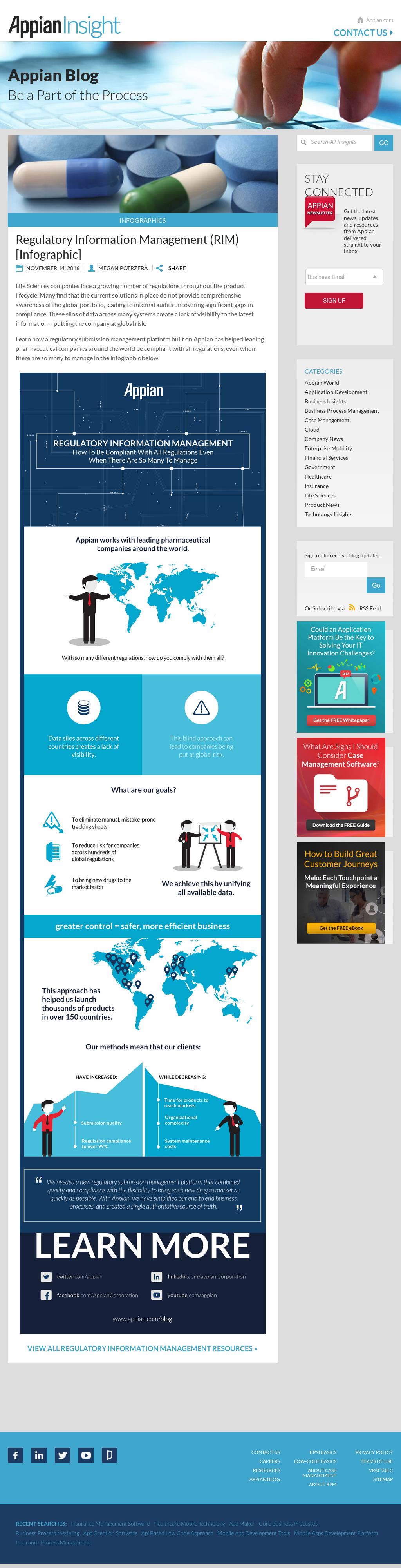 [Infographic] Regulatory Information Management (RIM)