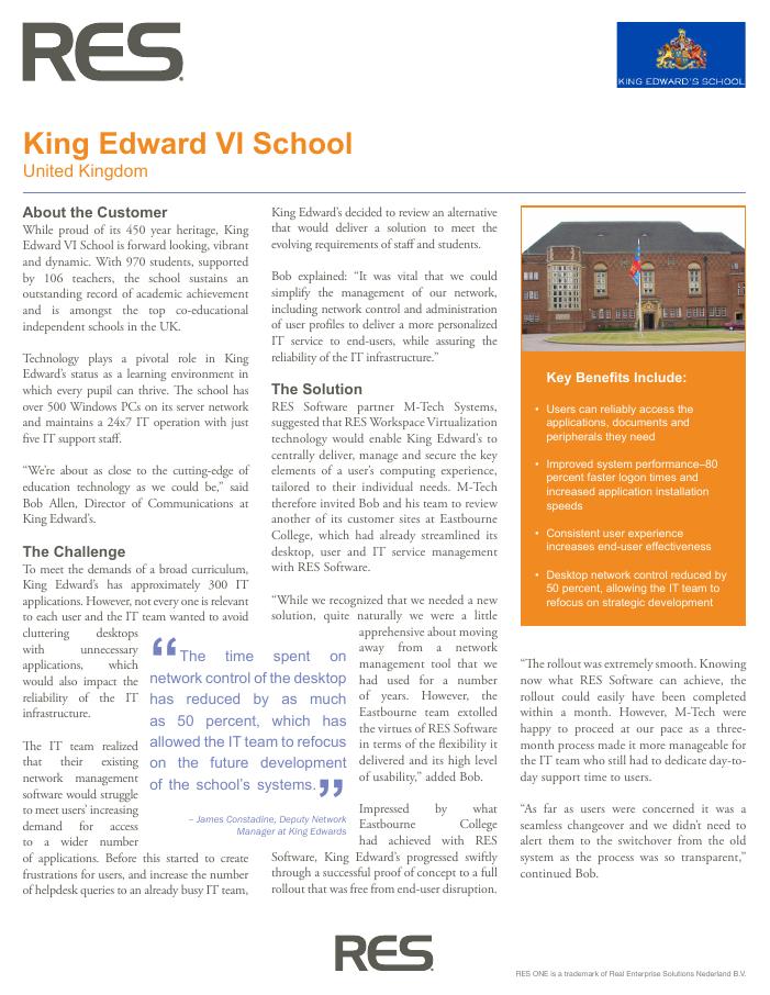 King Edward VI School