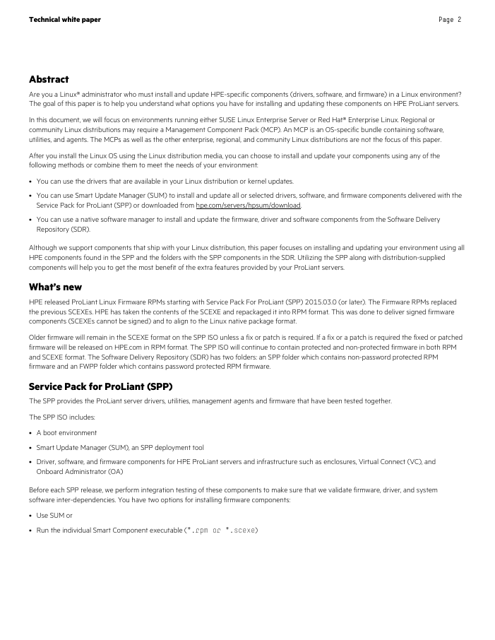 Technical Whitepaper: Linux Best Practices