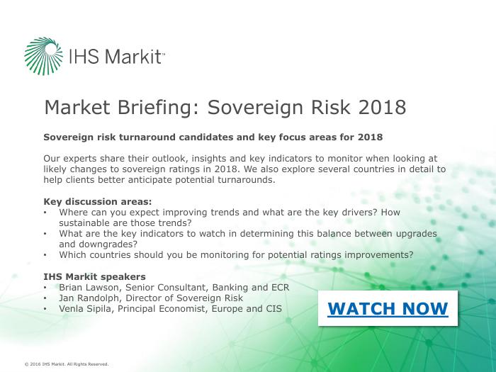 Market Briefing: Sovereign Risk 2018