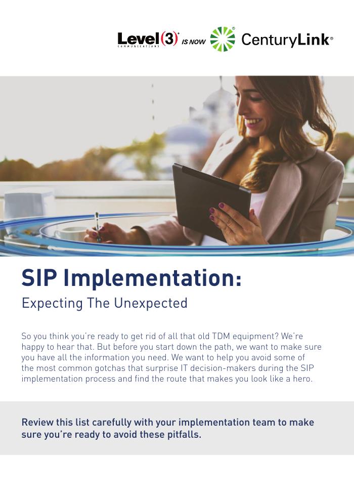 SIP Implementation: Avoiding Common Pitfalls