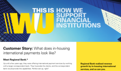 Case Study: What does in-housing international payments look like?